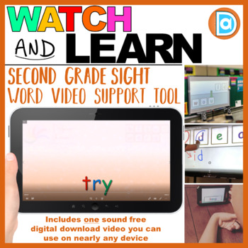 Fry Sight Word Building | Video | 2nd Grade | Try
