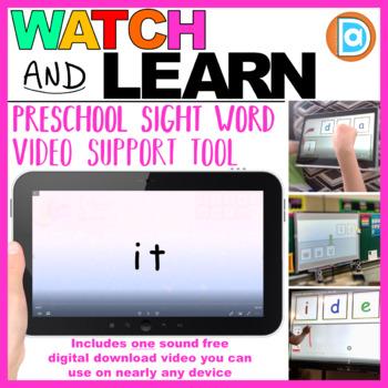 Kindergarten Grade Sight Word Fluency Resource   RTI   It