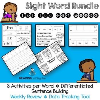 Fry Sight Word Activities Bundle