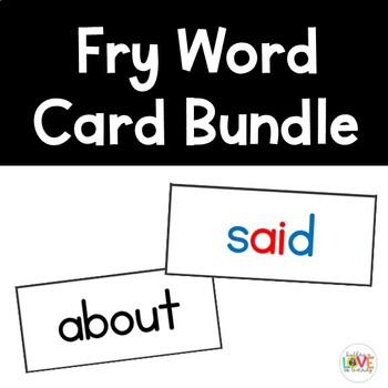 Fry Sight Word Bundle (Growing)
