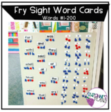 Fry Sight Word Cards #1-200