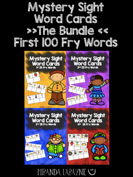 Fry Sight Word Center - The Bundle!