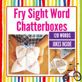Fry Sight Word Chatterbox 120 Words with Fun Jokes