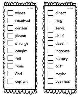 Fry Sight Word Check Sticker Book 701-800