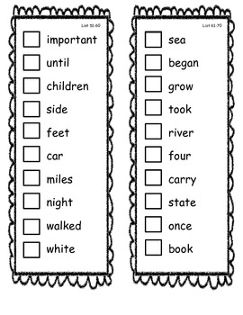 Fry Sight Word Check/Sticker Book 201-300
