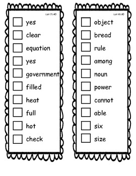 Fry Sight Word Check/Sticker Book 401-500