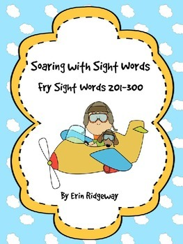 Fry Sight Word Checklist-Third 100 Words