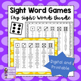 Fry Sight Word Dice Games Bundle - Words 1-1000