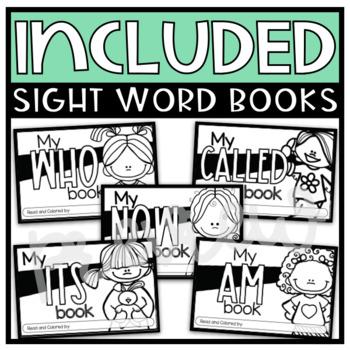 Fry Sight Word Emergent Readers {List EIGHTEEN}