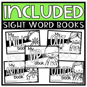 Fry Sight Word Emergent Readers {List ELEVEN}