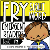 Fry Sight Word Emergent Readers {List TWELVE}