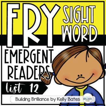 Fry Sight Word Emergent Readers {List TWELVE}