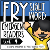 Fry Sight Word Emergent Readers {List FOUR}