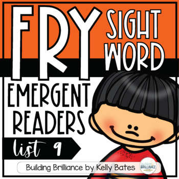 Fry Sight Word Emergent Readers {List NINE}