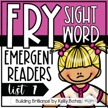 Fry Sight Word Emergent Readers {List SEVEN}