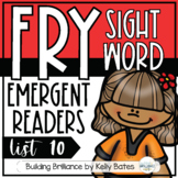 Fry Sight Word Emergent Readers {List TEN}