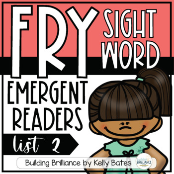 Fry Sight Word Emergent Readers {List TWO}
