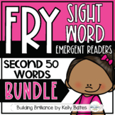 Fry Sight Word Emergent Readers {THE SECOND 50 WORDS MEGA BUNDLE}