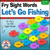 Let's Go Fishing—Fry Sight Word Game Literacy Center