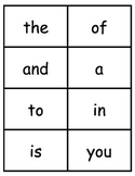 Fry Sight Word Flash Cards