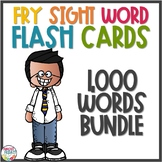 Fry Sight Word Flash Cards Bundle