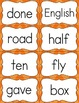 Fry Sight Word Flash Cards - The Fifth 100 - High Frequency Words Flashcards