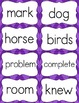 Fry Sight Word Flash Cards - The Fourth 100 - High Frequency Words Flashcards