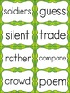 Fry Sight Word Flash Cards - The Ninth 100 - High Frequency Words Flashcards