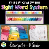 Fry Sight Word Flash Cards and Tracking System