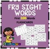 Fry Sight Word Flashcards