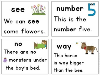 """Fry Sight Word Fluency Game ~ Sentence Reading """"Bang"""" Game (Fry Words 51 - 100)"""