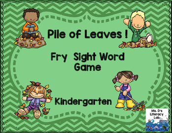 Fry Sight Words (Leaves)
