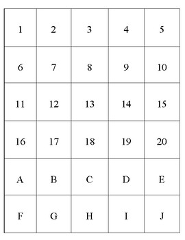Fry Sight Word List, Numbers, and Letters for Word Bottles