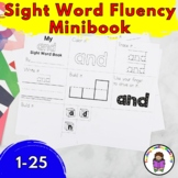 Sight Word Fluency Mini-book (words 1-25) Fry List
