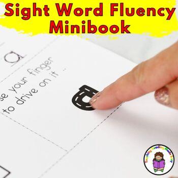 Sight Word Fluency Minibook (Word 1-100) Fry List