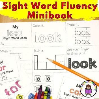 Fry Sight Word Minibook (Word 26-50)