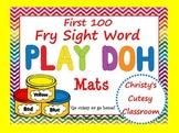 Fry Sight Word Play Doh Mats--First 100