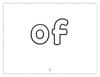 Fry Sight Word Play-Doh Mats 1-100