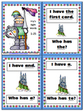 "Fry Sight Word ""I Have, Who Has"" Game"