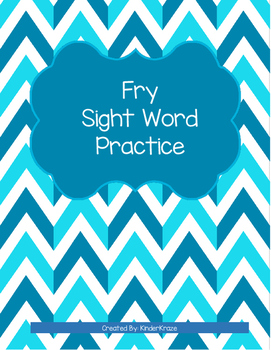 Fry Sight Word Practice