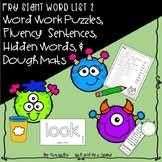 Fry Sight Word Puzzles Set 2