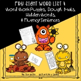Fry Sight Word Puzzles Set 4