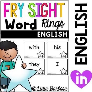 Fry Sight Word Rings