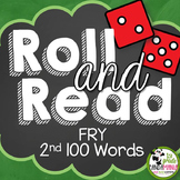 Fry Sight Word Roll and Read Center {2nd 100 Fry Words}