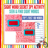 Fry Sight Word Secret Spy Find & Write Game | Fry's First