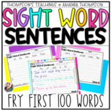 Fry Sight Word Series: Sentences Edition (First 100 Words)