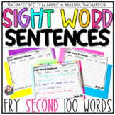 Fry Sight Word Series: Sentences Edition (Second 100 Words)