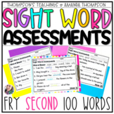 Fry Sight Word Series: Weekly Fry Sentence Assessments (SE