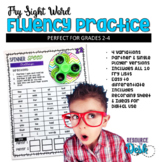 Fry Sight Word Spinner Game - Include ALL Fry Lists