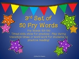 Fry  Sight Word Timed Slide Show (Words 101-150)